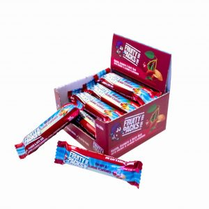 Healthy Snacks - Cherry and Almond flavoured bars
