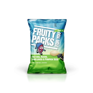 Fruity Packs - Healthy Snacks Fruit & Seed Mix - sultana, raisin, sunflower & pumpkin seed.