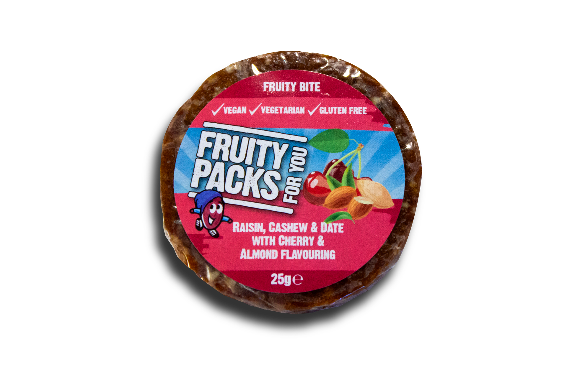 Fruity Packs cherry & almond fruity bite